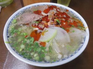 蘭州牛肉拉麺@穆撒 蘭州牛肉拉麺(本郷三丁目駅):ビジュアル
