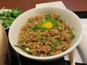 フカヒレ麺@元祖コラーゲンスープ よしなり:Bセット:鶏そぼろご飯