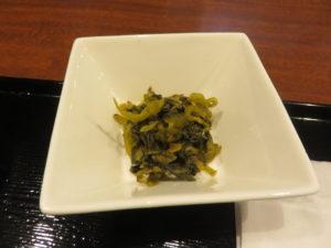 フカヒレ麺@元祖コラーゲンスープ よしなり:Bセット:漬物