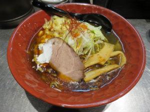 ブラックカリー麺@初代けいすけ 本駒込店:ビジュアル