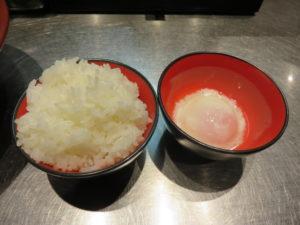 ブラックカリー麺@初代けいすけ 本駒込店:ブルジョアセット