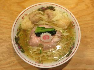 山椒ラーメン(中)肉2個海老2個@キング製麺:ビジュアル:トップ
