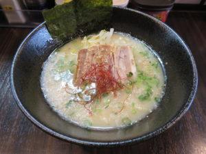 牛骨ラーメン@牛骨スープ麺屋MONG MONG:ビジュアル