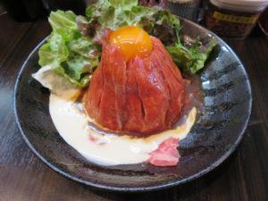 牛骨ラーメン@牛骨スープ麺屋MONG MONG:ローストビーフ丼
