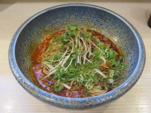 汁なし坦々麺(細麺・4辛)@八玄八角:ビジュアル