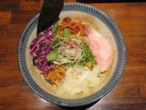 豚とろSoba@Noodle House 鶏トロRich:ビジュアル:トップ