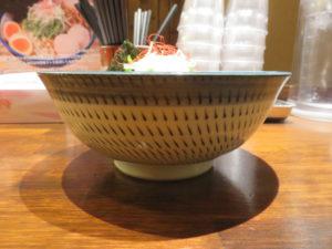 豚とろSoba@Noodle House 鶏トロRich:ビジュアル:サイド