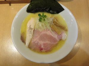 鶏白湯ラーメン(塩)@麺屋774:ビジュアル:トップ