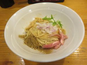 濃厚煮干し豚骨@煮干し豚骨らーめん専門店 六郷:和え玉