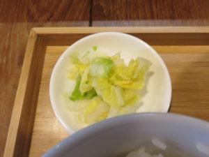 からひげ麻婆豆腐(麺)@からひげ:おしんこ