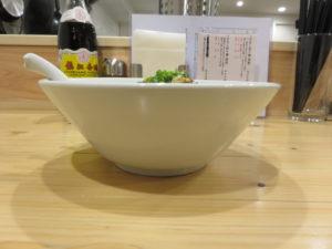 汁なし担々麺(醤油)@汁なし担々麺 ここから:ビジュアル:サイド