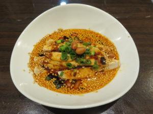 濃厚鶏白湯麺@名物よだれ鶏と濃厚鶏白湯麺 MATSURIKA 武蔵新田店:ミニよだれ鶏