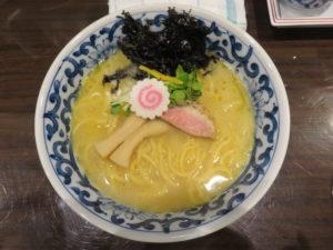 濃厚鶏白湯麺@名物よだれ鶏と濃厚鶏白湯麺 MATSURIKA 武蔵新田店:ビジュアル:トップ
