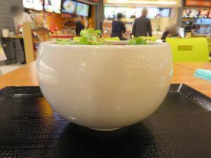 鶏白湯しょうゆそば@鶏白湯らーめん 自由が丘蔭山 アリオ亀有店:ビジュアル:サイド