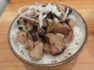 瀬戸内白いりこと地鶏のあっさり醤油@中華そば トランポリン:チャーシュー飯