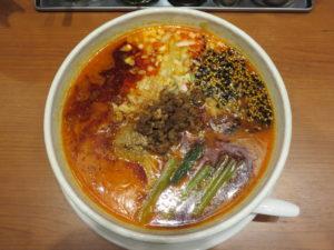担々麺@SHIBIRE NOODLES 蝋燭屋 表参道ヒルズ店:ビジュアル:トップ
