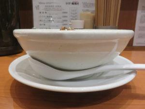 担々麺@SHIBIRE NOODLES 蝋燭屋 表参道ヒルズ店:ビジュアル:サイド