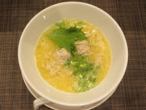 しおラーメン@自家製麺ほんま:ビジュアル:トップ