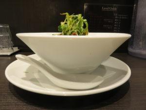 冷やし担担麺@四川担担麺 阿吽 キッテグランシェ店:ビジュアル:サイド
