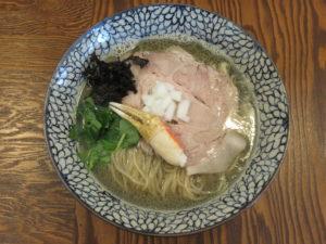 蟹SOBA@拉麺 イチバノナカ:ビジュアル:トップ