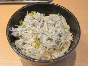 らぁ麺(並)@麺屋 庄太 赤坂店:君栄の釜揚げしらす丼