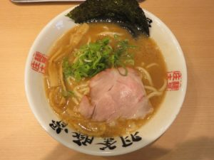 らぁ麺(並)@麺屋 庄太 赤坂店:ビジュアル:トップ