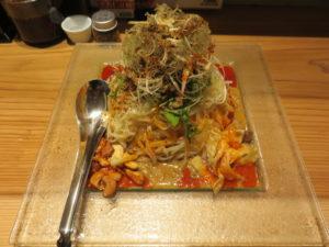 冷やし汁なし担担麺@175°DENO担担麺 神田駅北口店:ビジュアル