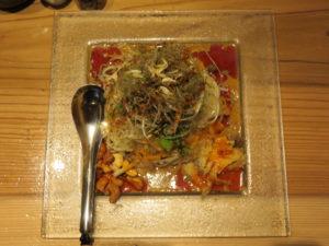 冷やし汁なし担担麺@175°DENO担担麺 神田駅北口店:ビジュアル:トップ
