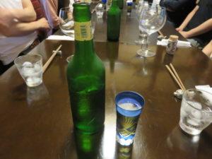 塩@季織亭:ビール