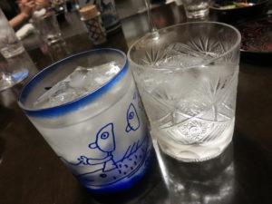 塩@季織亭:グラス