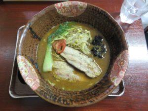 コク旨味噌鶏白湯 炙りチャーシューのせ@創作麺処 スタ アト:ビジュアル:トップ