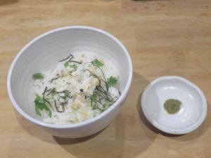真鯛白湯(醤油)@麺屋 鯛鯛:茶漬けセット
