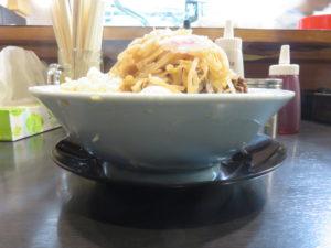 ラーメン@自家製麺 No11:ビジュアル:サイド