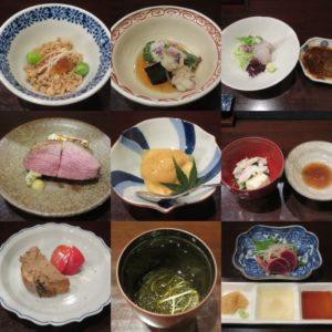 鶏そば@鳥田中:コース料理1
