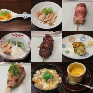 鶏そば@鳥田中:コース料理2
