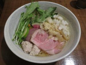 畑の鶏そば@麺処 竹川:ビジュアル