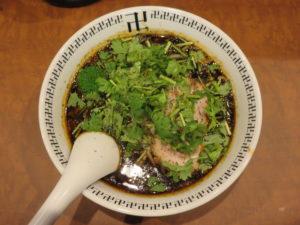 スパイス・パクチーラー麺@スパイス・ラー麺 卍力 秋葉原店:ビジュアル:トップ