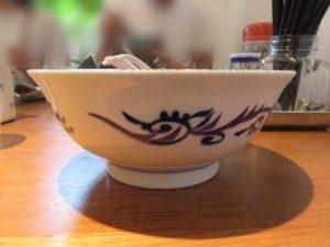 魚介とんこつラーメン@麺屋わおん:ビジュアル:サイド