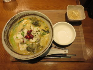酸菜鱼麺@漁見 浅草蔵前本店:ビジュアル:全体