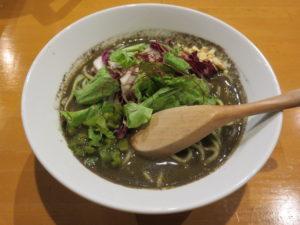 黒胡麻担々麺@担々麺atとなりのあじと:ビジュアル