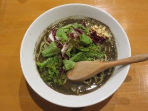 黒胡麻担々麺@担々麺atとなりのあじと:ビジュアル:トップ