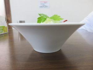 地鶏そば(塩)@麺屋 むじゃき:ビジュアル:サイド