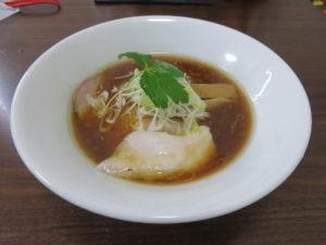 地鶏そば(塩)@麺屋 むじゃき:地鶏そば(醤油)