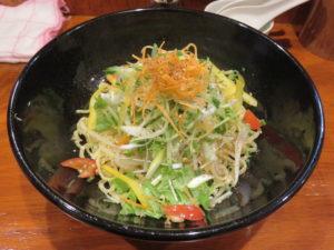 本格東京ジャージャー麺(並盛り)@本格東京ジャージャー麺 中野本店:ビジュアル