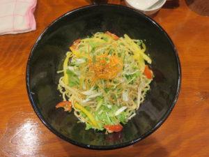本格東京ジャージャー麺(並盛り)@本格東京ジャージャー麺 中野本店:ビジュアル:トップ