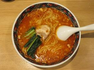 担々麺@寿限無担々麺 上野店:ビジュアル:トップ