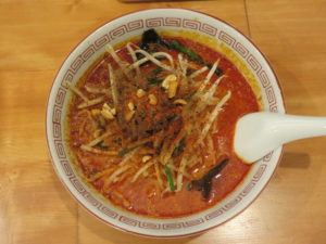 担々麺(辛い)@担々飯店:ビジュアル:トップ