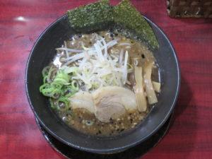 炎上焦がし味噌麺@焦がしらーめん 麺屋 誠:ビジュアル:トップ