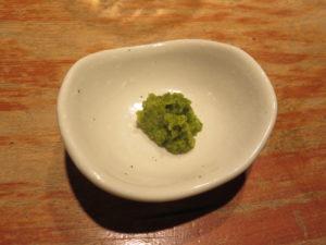 鯛煮干しラーメン@MERGE まあじ:自家製柚子胡椒