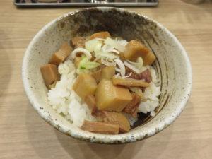 魚介豚骨ラーメン@ケンラボ:煮込みチャーシュー丼